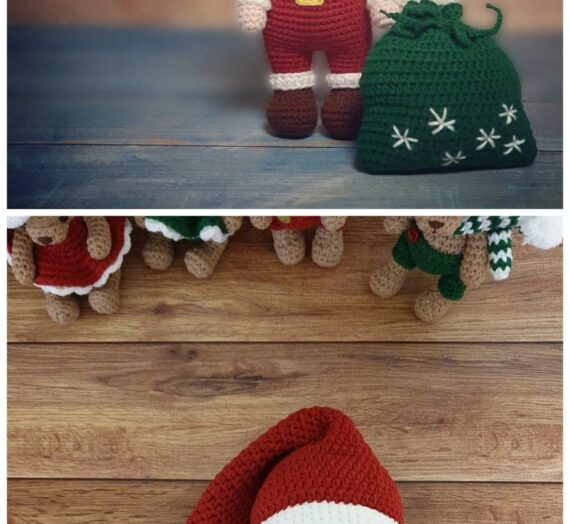 Amigurumi Doll And Animal Bear Santa Claus Free Crochet Patterns