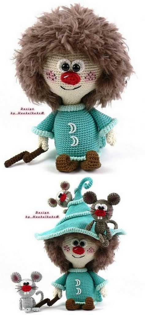 Amigurumi Doll And Animal Free Crochet Patterns and Tutorial Videos