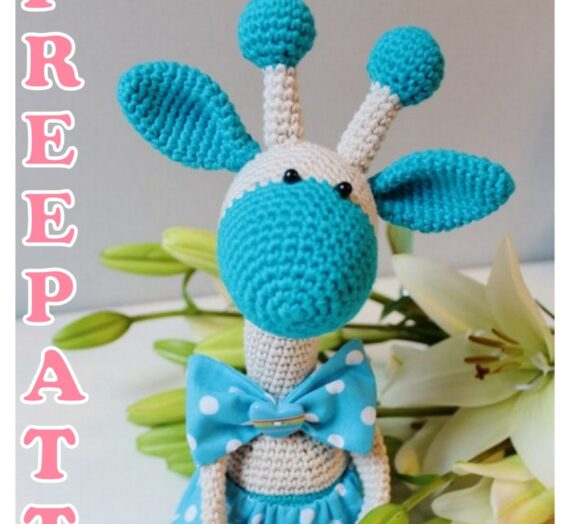 Amigurumi Cute Female Giraffe Free Crochet Pattern