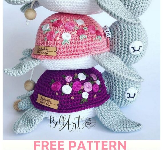 Cute Turtle Amigurumi Free Crochet Pattern